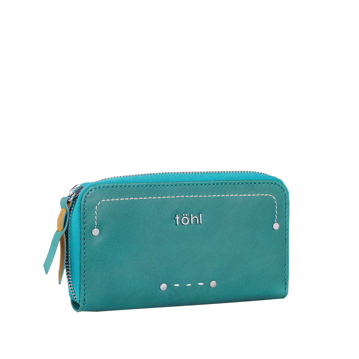 WT 0001 - TOHL YARA WOMEN'S ZIP WALLET - TURKIS
