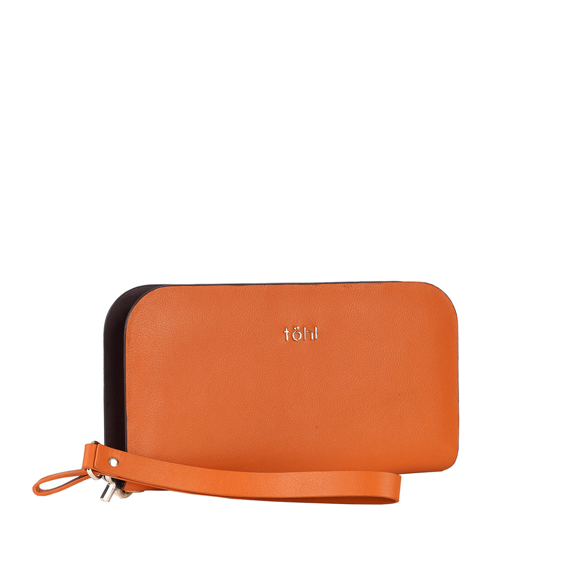 WT 0002 - TOHL DELANCEY WOMEN'S CLUTCH WALLET - ORANGE MELON