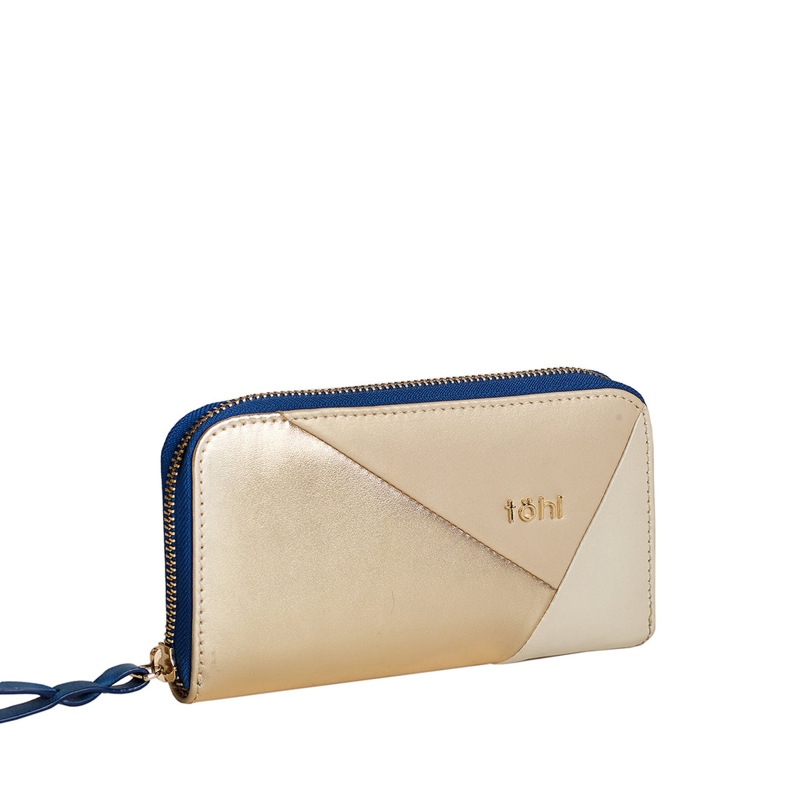 WT 0006 - TOHL TURA WOMEN'S ZIPAROUND WALLET - GOLD