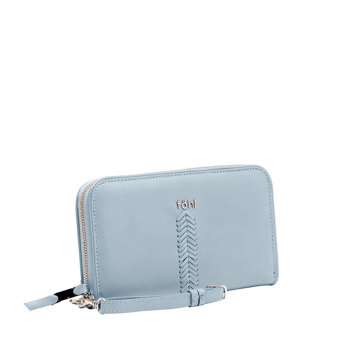 WT 0007 - TOHL LUCE WOMEN'S ZIP WALLET - WATER