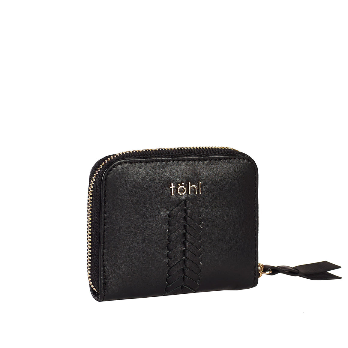 WT 0008 - TOHL JONI WOMEN'S COMPACT WALLET - CHARCOAL BLACK