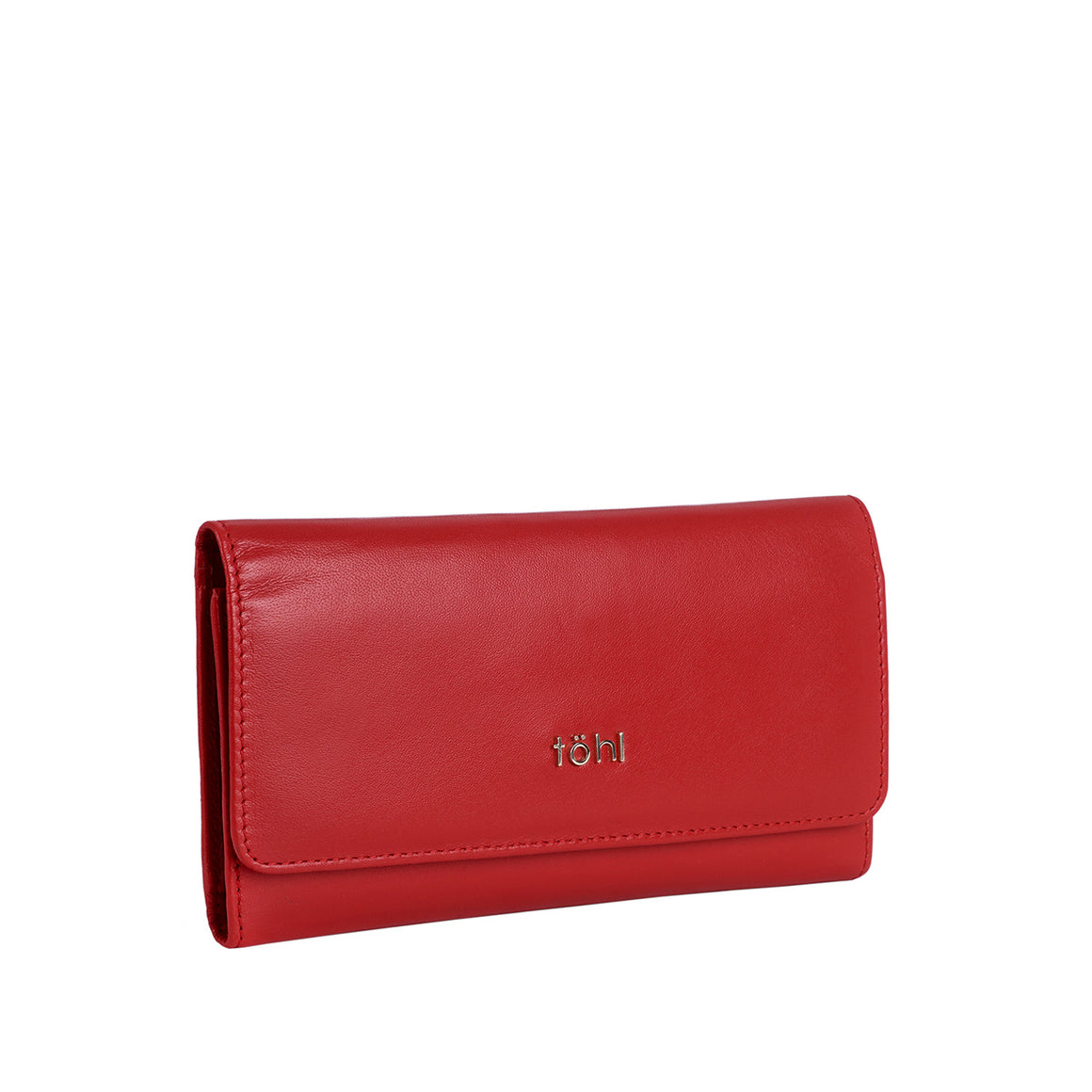WT 0012 - TOHL BOBBI WOMEN'S FLAPOVER WALLET - SPICE RED