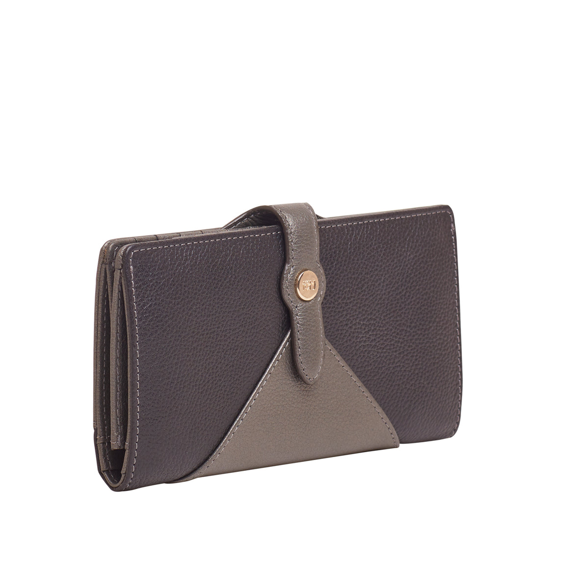 WT 0016 - TOHL BAHIA WOMEN'S WALLET - CHARCOAL BLACK