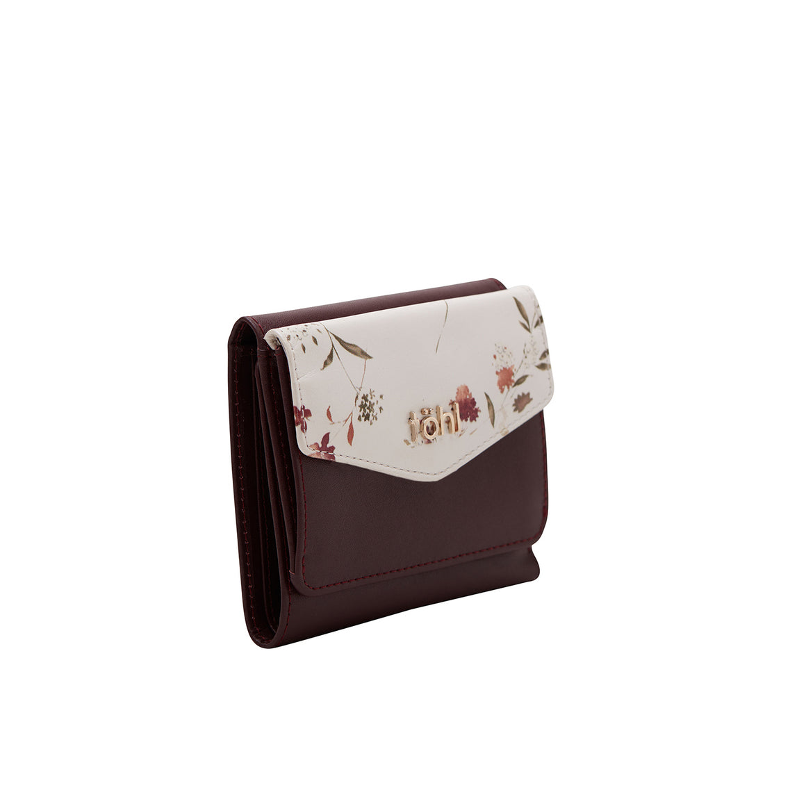 WT 0023 - TOHL HARRIET WOMEN'S WALLET - BURGUNDY