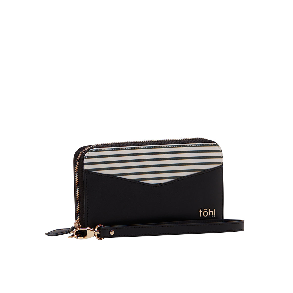 WT 0024 - TOHL GRESSE WOMEN'S WALLET - CHARCOAL BLACK