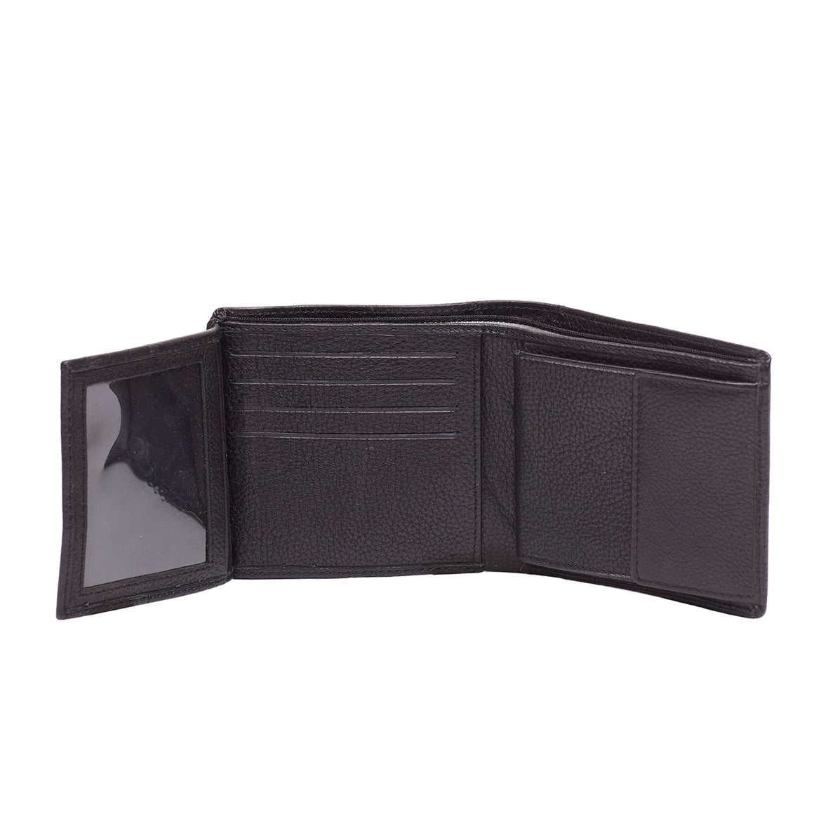 WT 0026 - TOHL LAMBRO MEN'S WALLET - CHARCOAL BLACK
