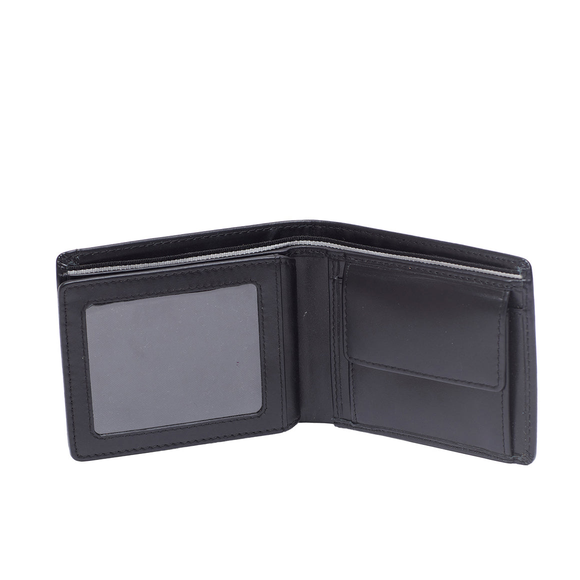 WT 0027 - TOHL GREKO MEN'S WALLET - CHARCOAL BLACK