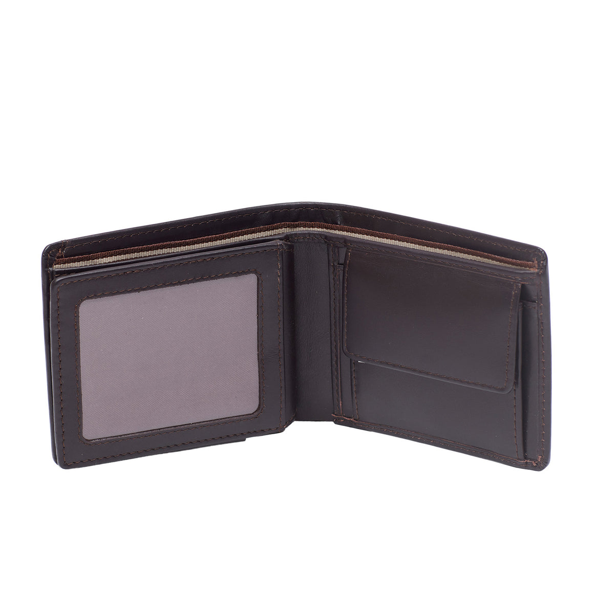 WT 0027 - TOHL  GREKO MEN'S WALLET - DARK BROWN