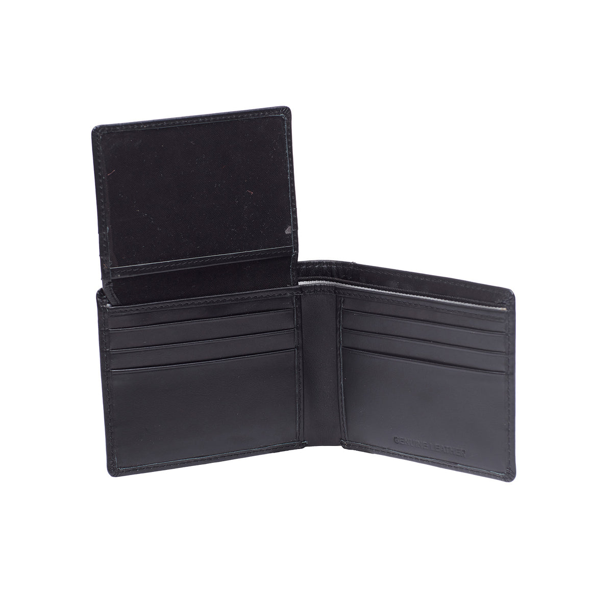 WT 0028 - TOHL ZONA MEN'S WALLET - CHARCOAL BLACK