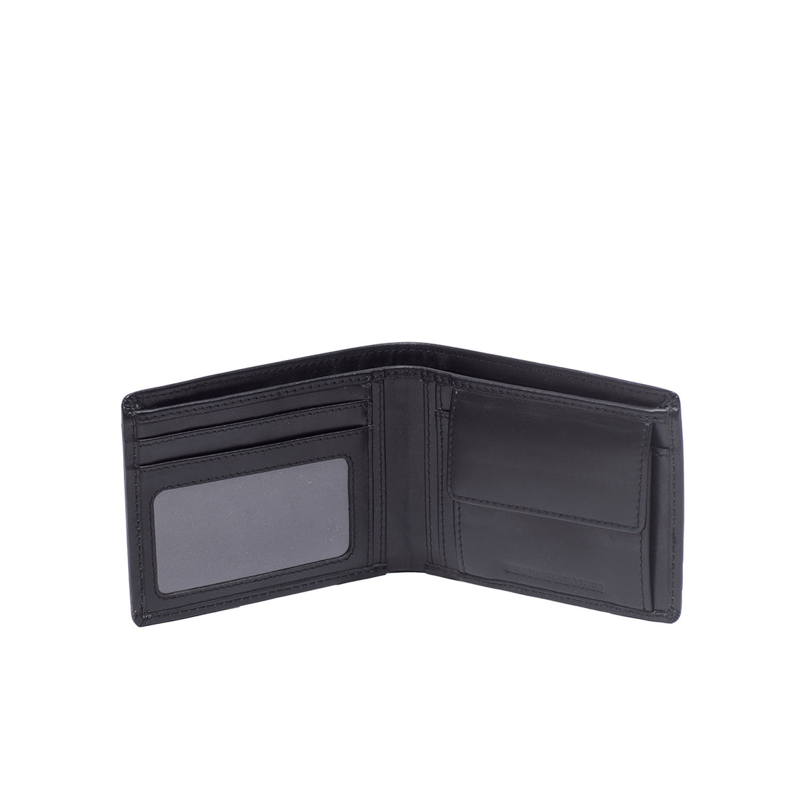 WT 0029 - TOHL BORGO MEN'S WALLET - CHARCOAL BLACK