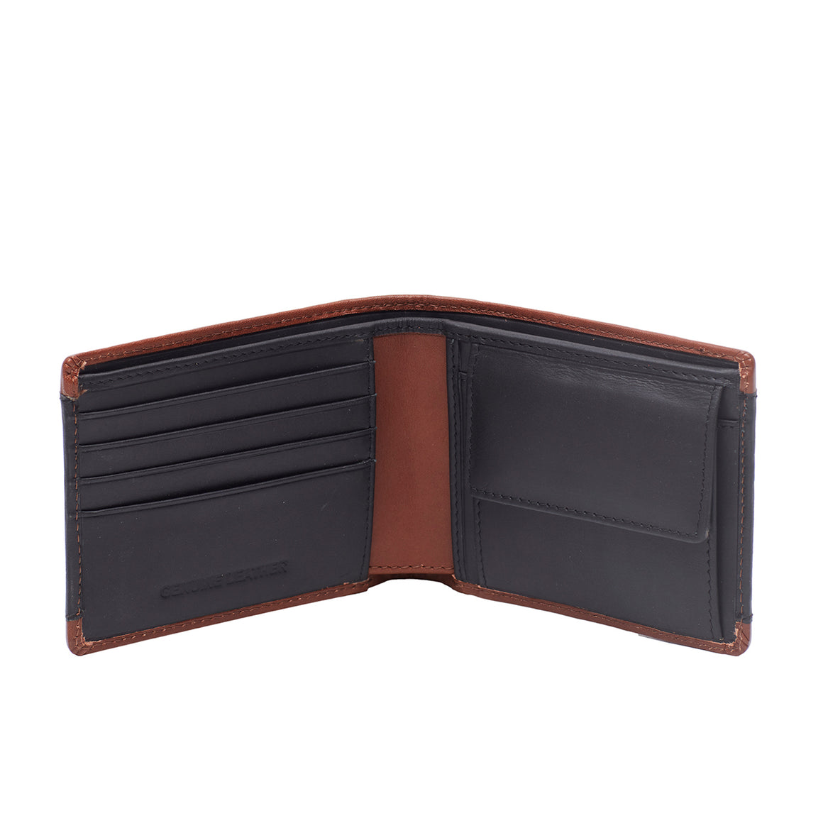 WT 0030 - TOHL FIERA MEN'S WALLET - CHARCOAL BLACK