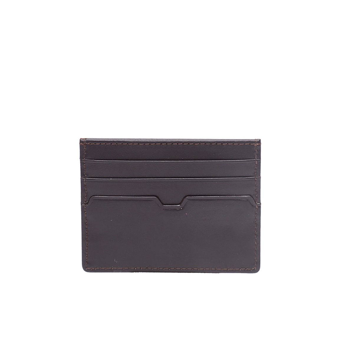WT 0035 - TOHL ZELO MEN'S CARD HOLDER - DARK BROWN
