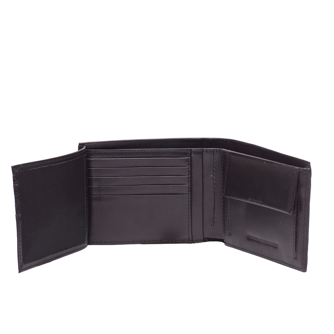 WT 0043 - TOHL ALBERI MEN'S WALLET - CHARCOAL BLACK