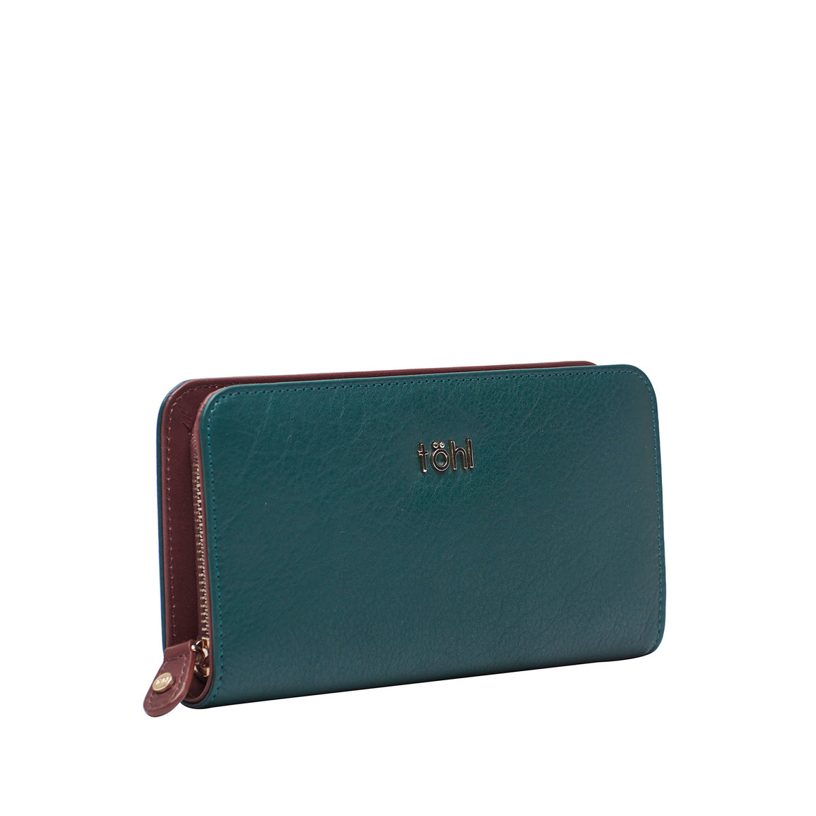 WT 0018 - TOHL BRITTON WOMEN'S  WALLET - FOREST GREEN