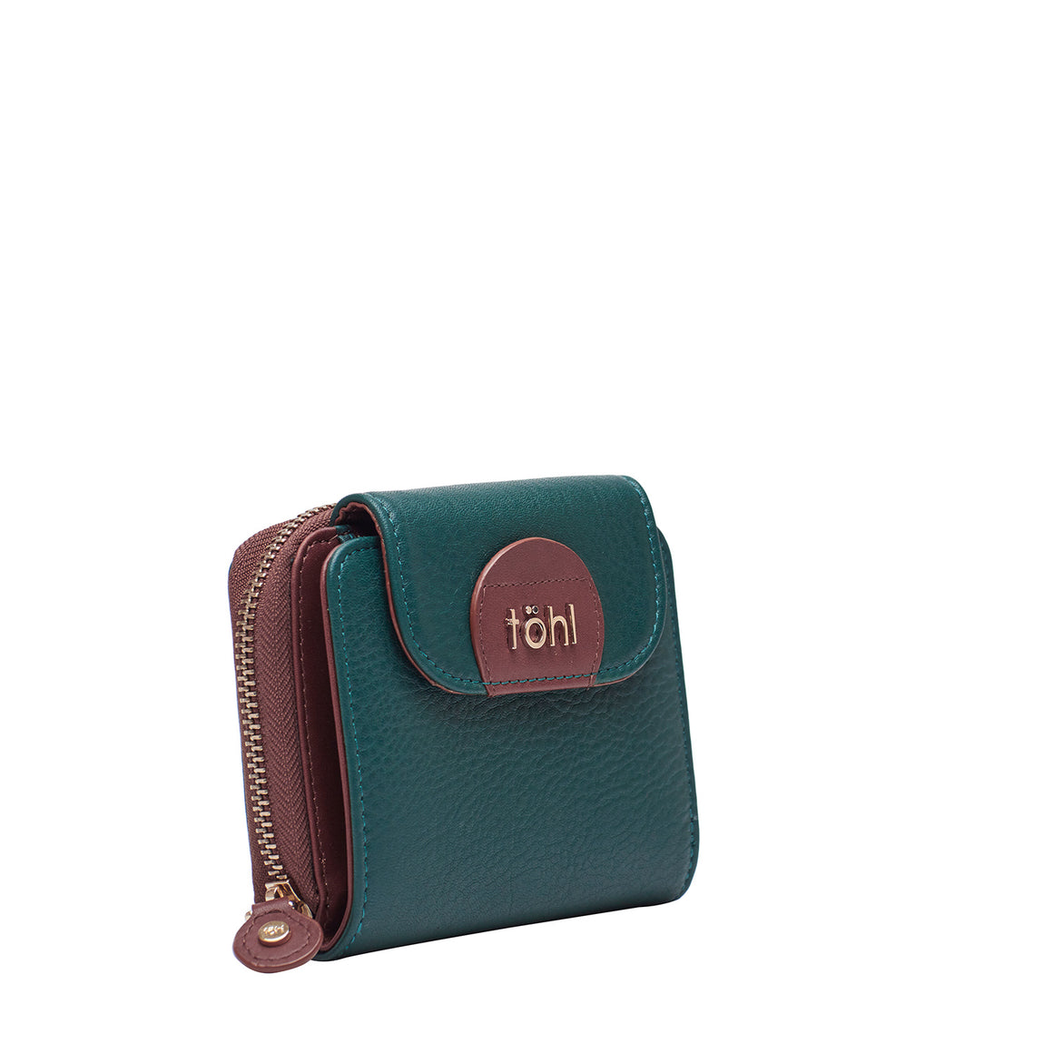 WT 0019 - TOHL COMPTON MINI WOMEN'S WALLET - FOREST GREEN