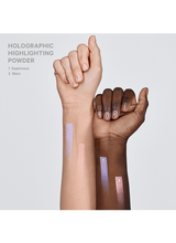 Holographic Highlighting Powder