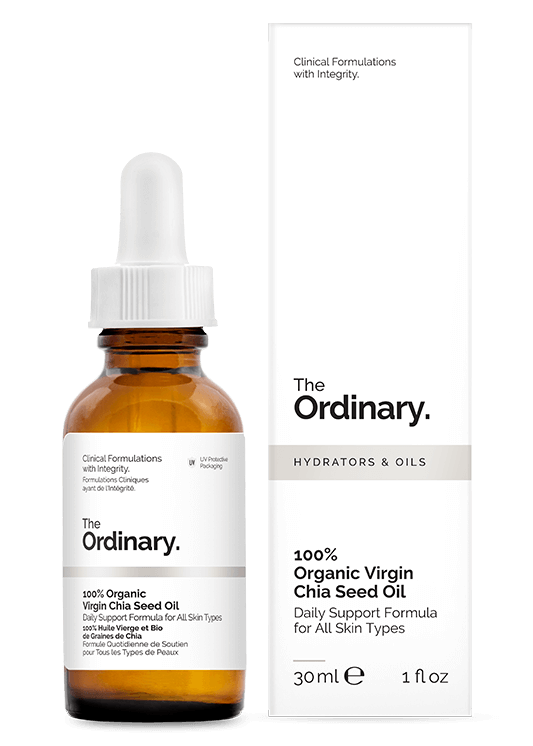 100% Organic Virgin Chia Seed Oil