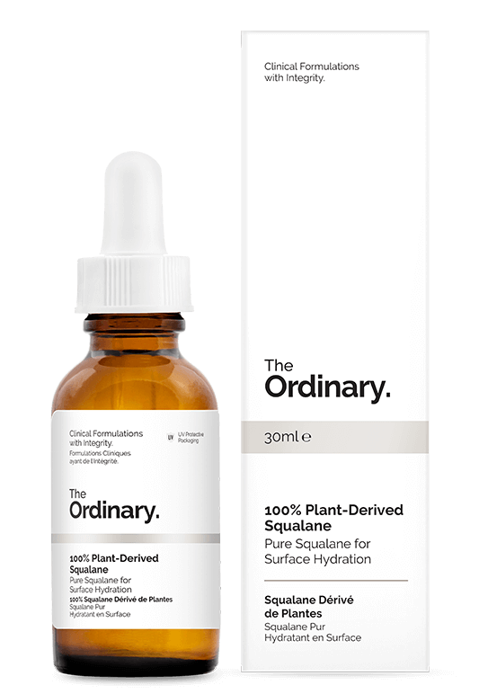 100% Plant-Derived Squalane