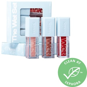 Mini Wet Set Clean Lip Oil Trio