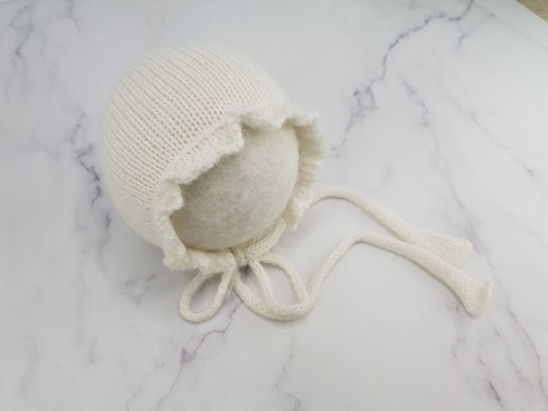 RTS 'MILLIE' newborn bonnet