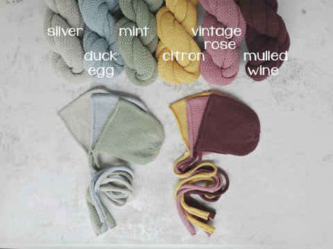RTS Snug bonnet and wrap set