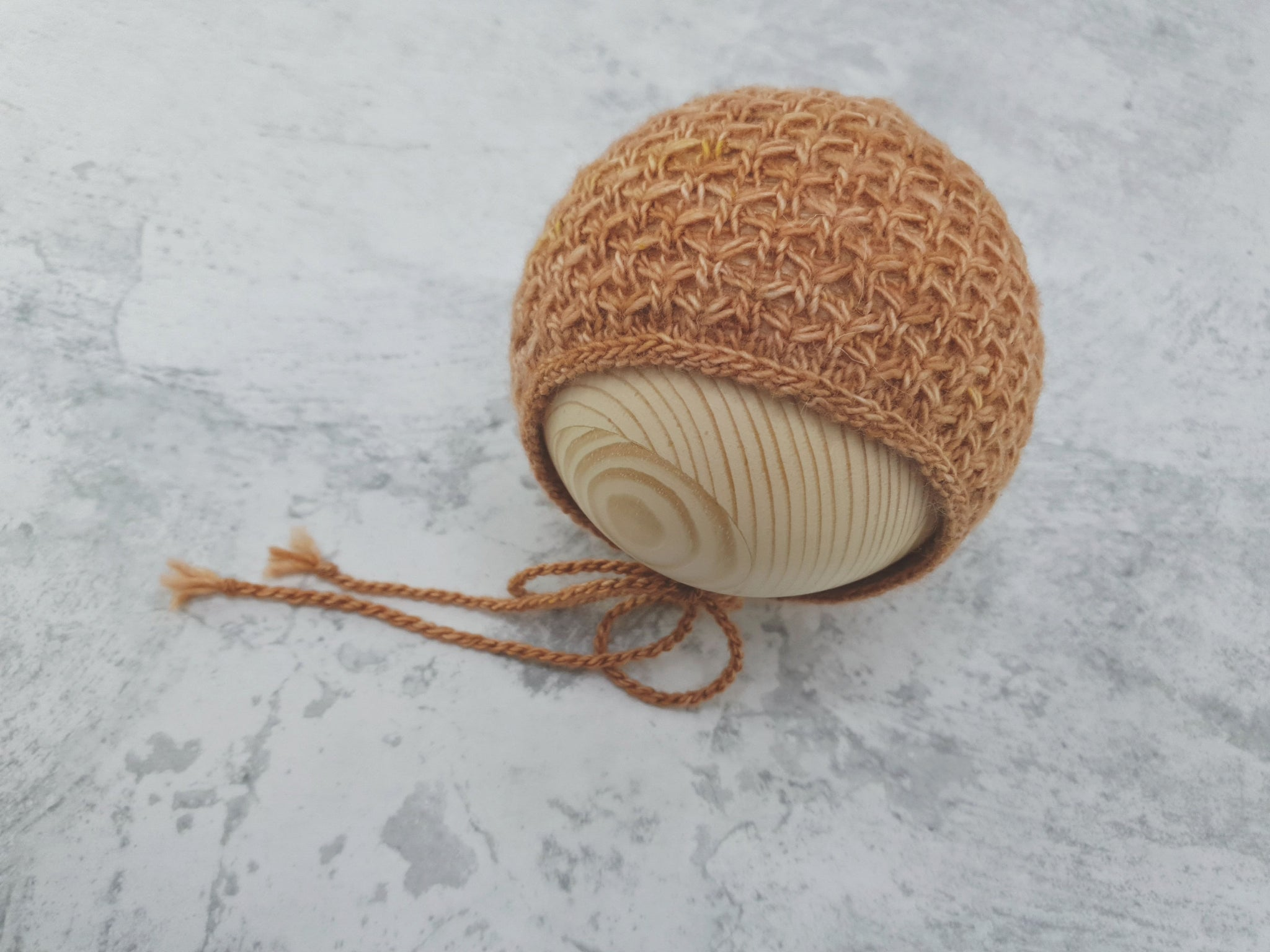 RTS 'RIVER' newborn bonnet (*LIMITED EDITION*)