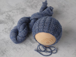 RTS 'JAMES' bonnet and wrap set - MARINE (*LIMITED EDITION)