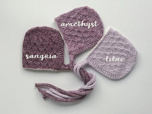 'RILEY' COLLECTION - newborn bonnet/bonnet and wrap set **MADE TO ORDER**