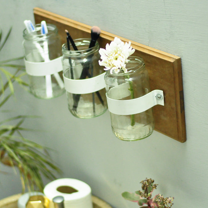 Wall Mounted kitchen shelf Organiser