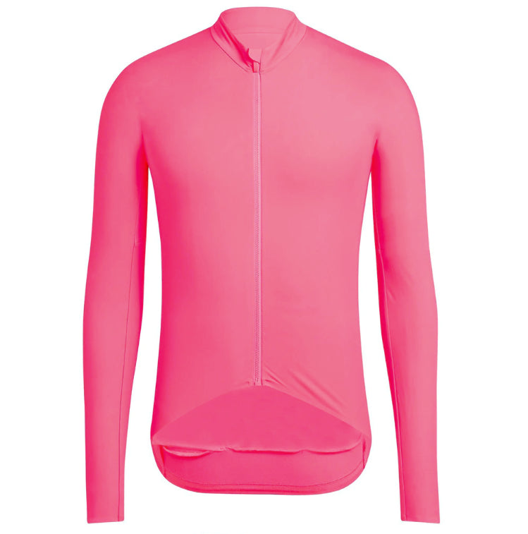 Pro Thermal Pink - Long Sleeve jersey