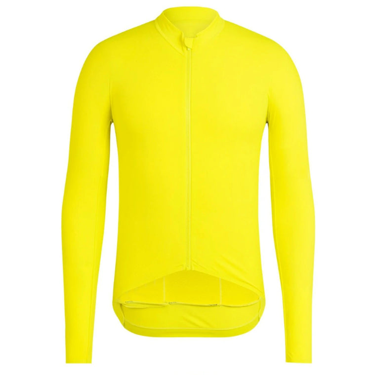 Pro Thermal Yellow - Long Sleeve jersey