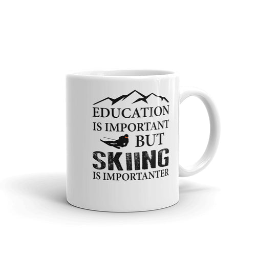 Skiing Coffee Mug