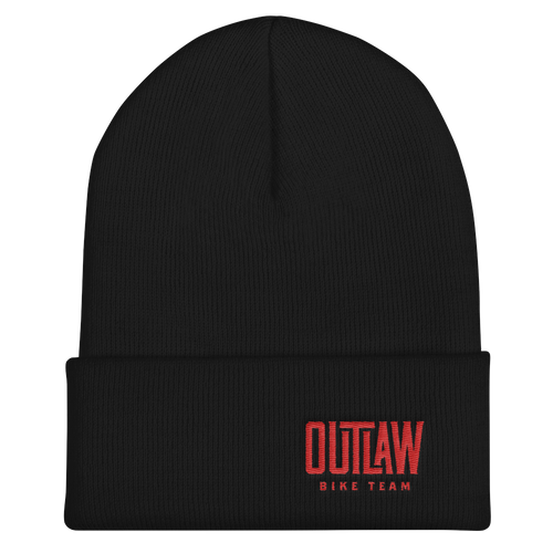 Outlaw Bike Team Cuffed Beanie