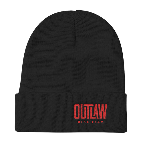 Outlaw Bike Team Knit Beanie