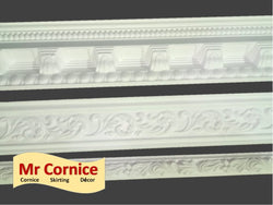 Moulded cornice and Dado rails