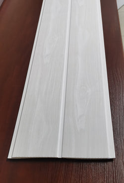 Light wood grain grooved - Priced per board