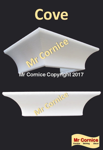 Mr Cornice Cove profile (Per 2 M Length) Cornice