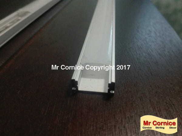 Mr Cornice Led Extrusion/channel With Opaque Lens For Strip Lights (Per 2 M Length) Lighting