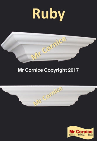 Mr Cornice Ruby profile cornice