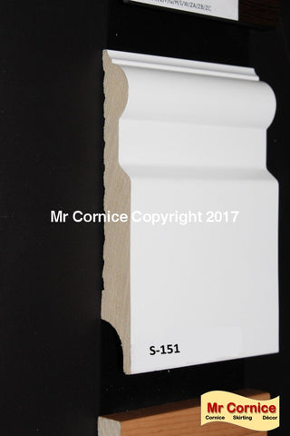 Mr Cornice S-151 Polymer Skirting (ERP010)