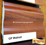 Mr Cornice S-751 Polymer Skirting (EFECO) Cp Walnut