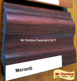 Mr Cornice S-751 Polymer Skirting (EFECO) Meranti