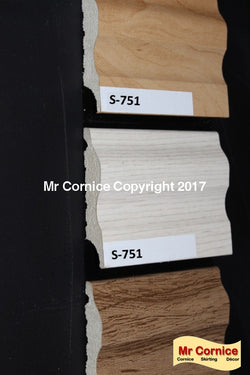 Mr Cornice S-751 Polymer Skirting (EFECO)
