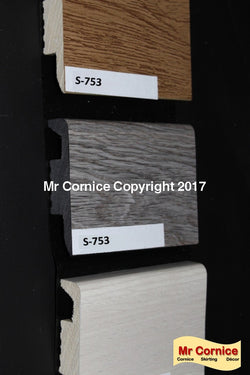 Mr Cornice S-753 Polymer Skirting (3015)
