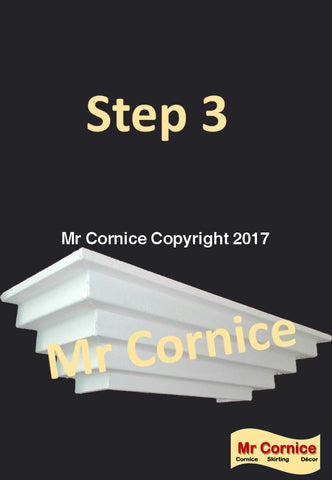 Mr Cornice Step 3 profile cornice