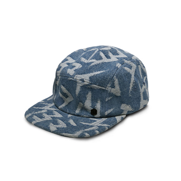 NORMAN DENIM HAT - DENIM BLUE CALLIGRAPHY