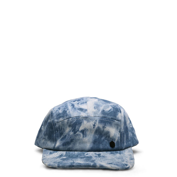 NORMAN DENIM HAT - TIE DYE DENIM SKY BLUE