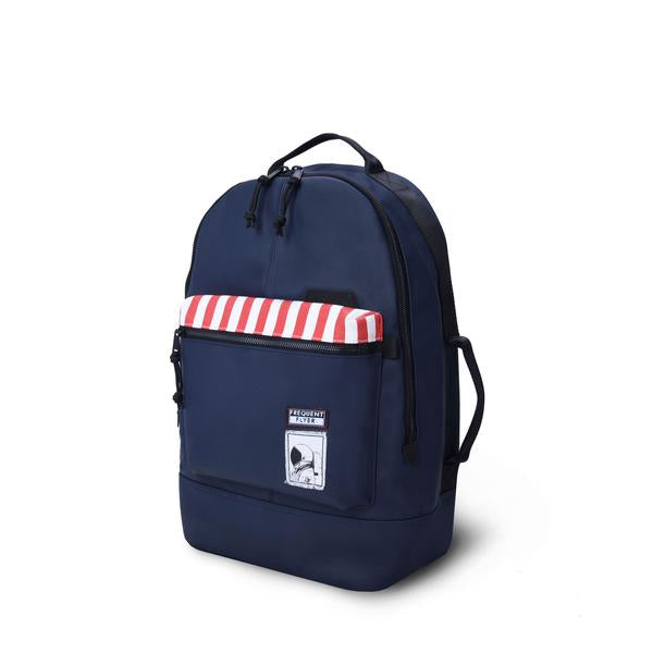 City U Backpack (Cotton Canvas with PU Coating)