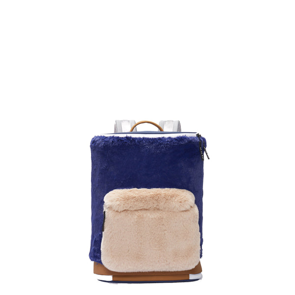 CAPTAIN ZIP AROUND BACKPACK (S) (Faux Fur)