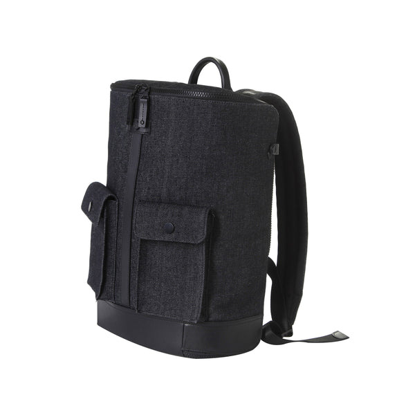 Captain Zip Around Backpack (L) (Denim)